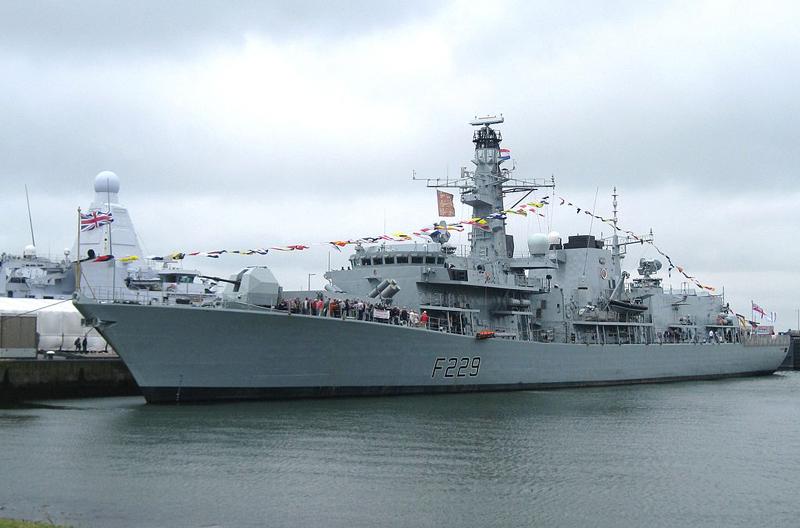 Type 23 frigate HMS Lancaster